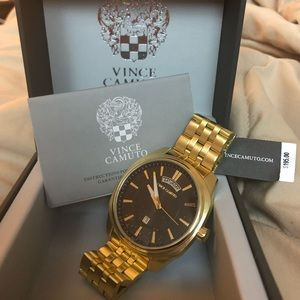 Vince Camuto Men's Gold Watch